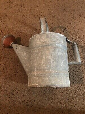 Vintage WATER CAN. From EARLY 1960'S. SOLID PIECE BEEN IN ATTIC..