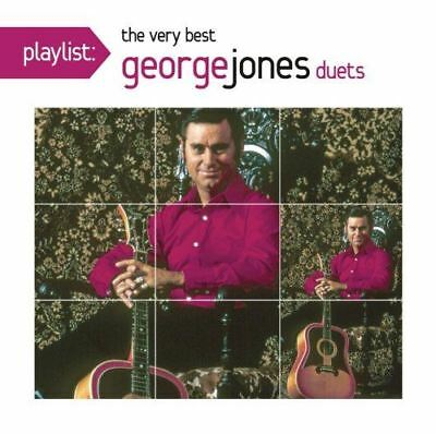 George Jones - Playlist: The Very Best of Duets - Damaged Case