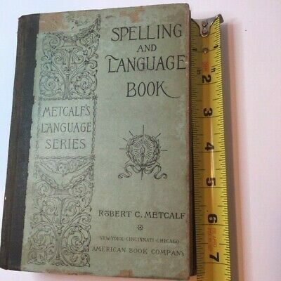 3 Antique 19th Century School Books Spelling Geography Health 1880s see details