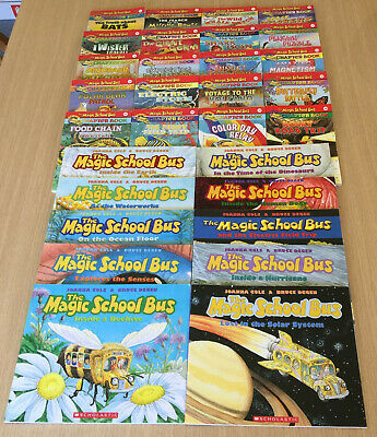 30 x THE MAGIC SCHOOL BUS - Chapter Books 1 to 20 + 10 Explores, Inside, Ocean