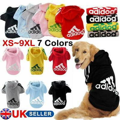 Pet Dog Cat Puppy Sweater Hoodie Coat For Small Pet Dog Warm Costume Apparel--UK