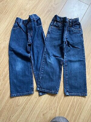 2x Boys Next Jeans Age 5 Height 110cm