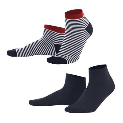Living Crafts Kinder Sneaker Socken 2er-Pack Bio-Baumwolle