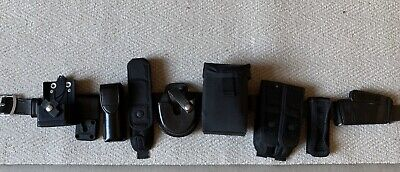 Police/Armed/SO19/SF Leather belt and holders