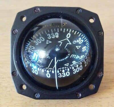 Silva 70 Compass mounted in custom made bezel