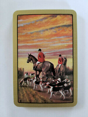 Playing Swap Cards 2 VINT  U.S BUCK JUMPING HORSES /& RIDERS W461 MINI IMAGES