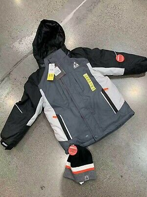 Inner Jacket /& Beanie For Boys sz Small Gerry 3-In-1 System Hooded Outer Jacket