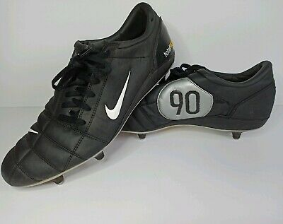 NIKE AIR ZOOM Total 90 III BlackSilver Football Boots Size