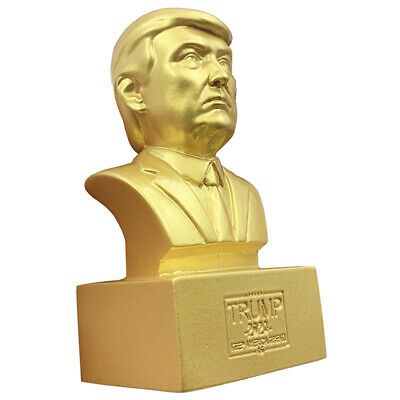 Donald J. Trump Statue Sculpture Collectible 2020 President Historical Bust New