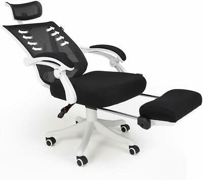 Hbada Reclining Office Desk Chair | Adjustable High Back Ergonomic Computer Mesh