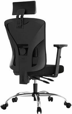 Hbada Ergonomic Office Desk Chair with Adjustable Armrest, Lumbar Support, Headr