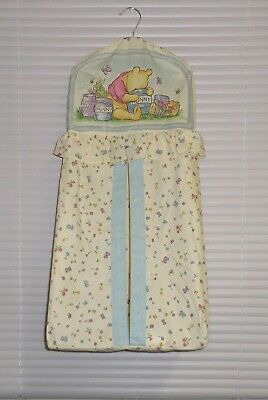 Disney Classic Winnie The Pooh Diaper Stacker Red Calliope NWOT