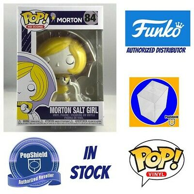 Funko POP Ad Icons: Morton - Salt Girl w/ PopShield In Stock