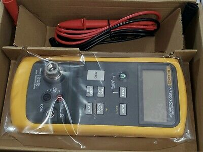 New FLUKE 717-500G Pressure Gauge Calibrator 0-500 PSI 0.01 PSI Res