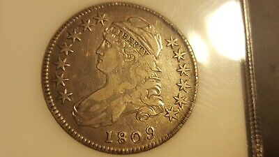 1809 Capped Bust Half Dollar O-106 rarity  both 3 and 5!  READ BELOW