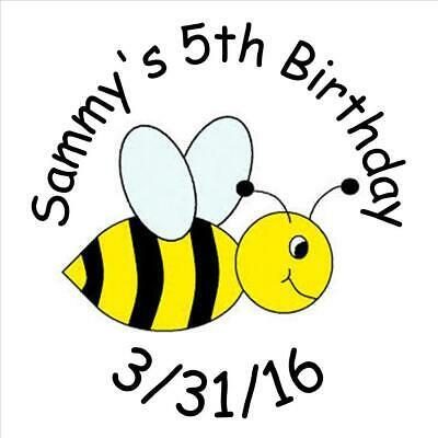 First//1st Birthday Honeycomb BUMBLE BEE Hershey Kiss Labels-Baby Shower Favor