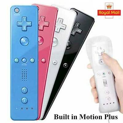 Wiimote Built in Motion Plus Inside Remote Controller +Case For Nintendo wii UK