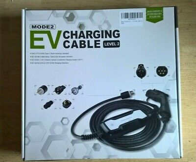 Morec Type 2 Portable EV charger cable Charging Box