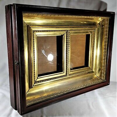 Antique Box Kiot for Icon 19 th. century 40 x  55 sm ( 15,7 in x  21,6 in  )