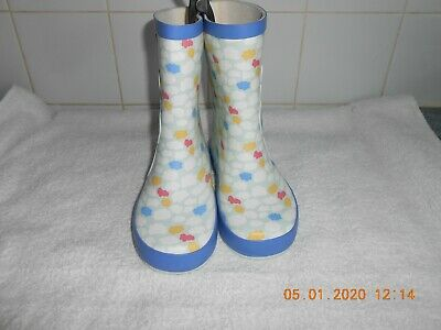 M&S Girls Kids Unicorn Wellies Bnwt Size Uk 11 New