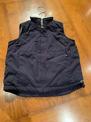 Timberland Boys Navy Gillet Size 2 Fleece Lined With Back Pockets