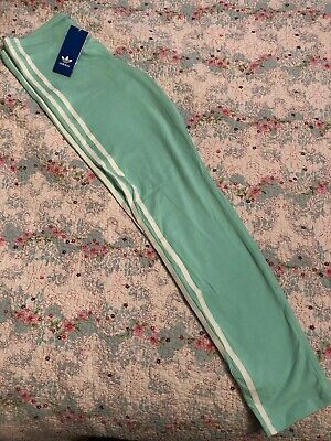 Adidas Leggings BNWT Green/white Age 14-15 Years