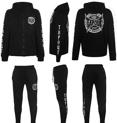 "TAPOUT NEW TRACKSUIT FullZip ""FIGHT CLUB"" UFC Hoodie Sweatpants Joggers XL XXL"
