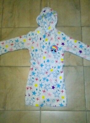 Girls My Little Pony Dressing Gown Age 3-4 Years
