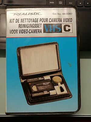 Kit de Nettoyage pour Camera Video - Camrecorder Cleaner Kit - Reiniginsset VHS