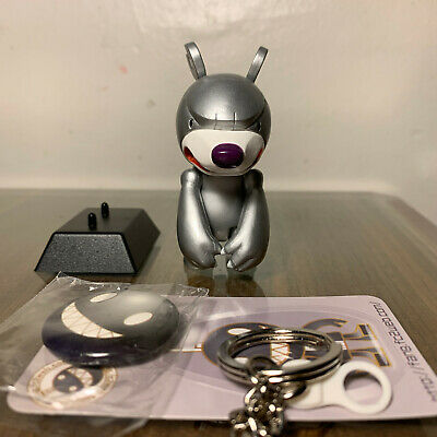 "INFERNO Knuckle purple KNUCKLE BEAR Qee 2.5/"" keychain NEW Elementaler Series"