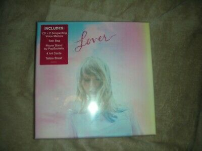 Taylor Swift - Lover CD Box Set Limited Edition New Album Sealed 2019 !!