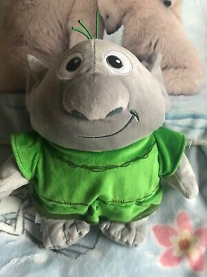 "Frozen Troll Disney Store Original Reversible Rock 10.5"" Plush Soft Toy"