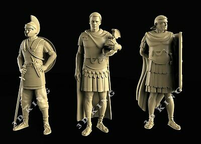 33 Pcs 3D STL Model CHESS ARAB & ROMAN ARMY for CNC Aspire ROUTER 3D Printer