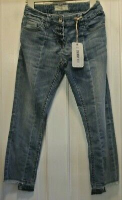 New Next girls distressed Jeans Blue age 8 years Skinny Fit
