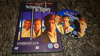 The Talented Mr Ripley (DVD, 2001)  Matt Damon, Jude Law, Gwyneth Paltrow
