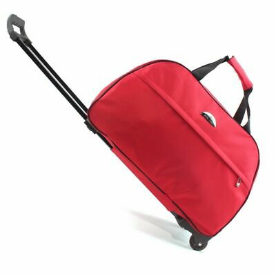 Travel Bag Luggage Duffle Trolley Rolling Suitcase Wheel Carry-On