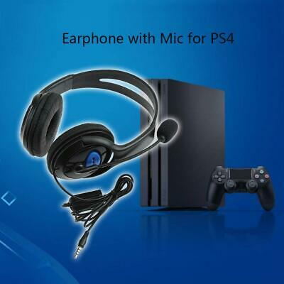 Stereo Wired Headset Game Headphone with Microphone for Sony Playstation 4
