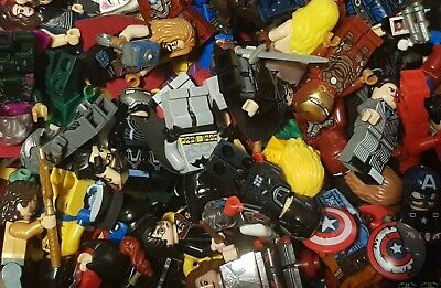 Minifigures Marvel DC Superheroes Avengers Batman Iron Man Captain America