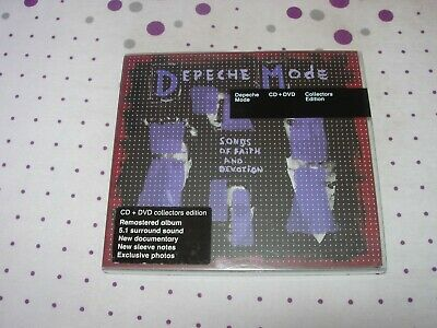 Depeche Mode - Songs Of Faith and Devotion - SACD + DVD - Collectors edition 5.1