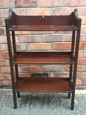 ARTS and CRAFTS OAK BOOKCASE Early 20th Century