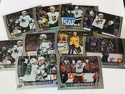 2019-20 Upper Deck Nhl Wave One Overtime Winners You Pick What You Need