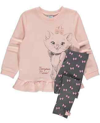 Disney Marie girls 2-piece outfit - top and leggings.  Age 4-5 years.  BNWT