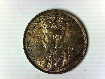1914 Canada Lg Cent. Very hi grade w/luster coin. Includes Free shipping in US.