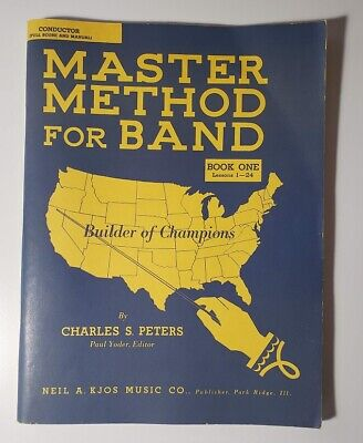 Master Band Method, Book One Conductor Score & Manual