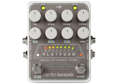Electro-Harmonix Platform Stereo Compressor/Limiter Gently Used