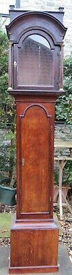 """Longcase Clock Case, Elegant London Style. For 12"""" by 16.5"""" dial. 94"""" High."""