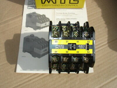 Mte Axc1 0313 Contactor