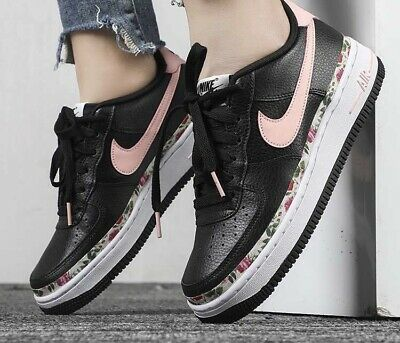 Nike Air Force 1 Vintage Floral Womens Trainers. Size 5.5 UK. New Boxed. Leather