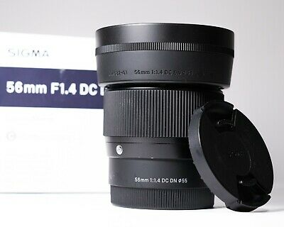 SIGMA 56mm F1.4 DC DN Contemporary Lens For Sony E Mount BOXED