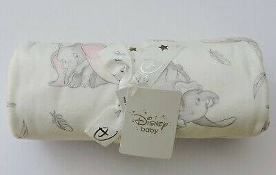 Disney Dumbo Baby Boy or Girl (Unisex) Soft Fleece Blanket - Gift / Present BNWT